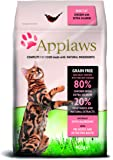 Applaws Katze Trockenfutter mit Hühnchen & Lachs, 1er Pack (1 x 400 g)