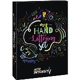 BIC 999399 My Hand Lettering Set con Pennarelli in Feltro BIC Intensity Fine (x20 / 0.4 mm), Medium (x12 / 0.7 mm), Dual Tip