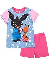 Bing Pijamas de Manga Corta para niñas