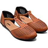 MYRA Women's Cut-Work Casual Designer Sandals - MS730C