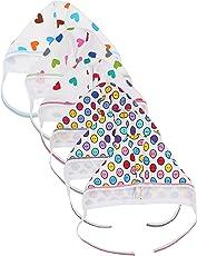 FARETO Babies Cap (Di-Caps-set6--3-6 Months, Multi-Coloured, 3-6 Months, Set of 6)