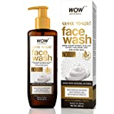 WOW Skin Science Greek Yoghurt Face Wash - No Parabens, Sulphate, Silicones & Color (200mL)