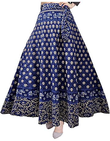 12bc5be28 Silver Organisation Women's Cotton Skirt (SK_5183, Multicolor, Free Size)