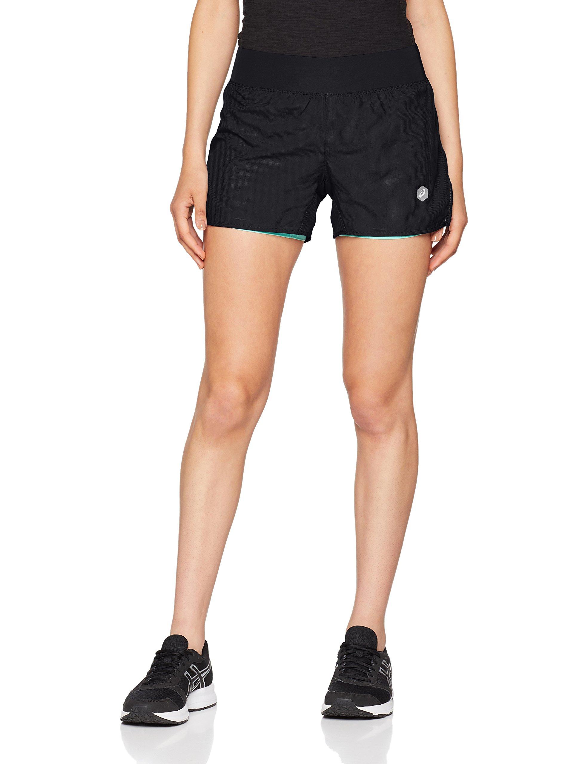 Asics Damen Cool 2-in-1 3.5 Zoll Shorts