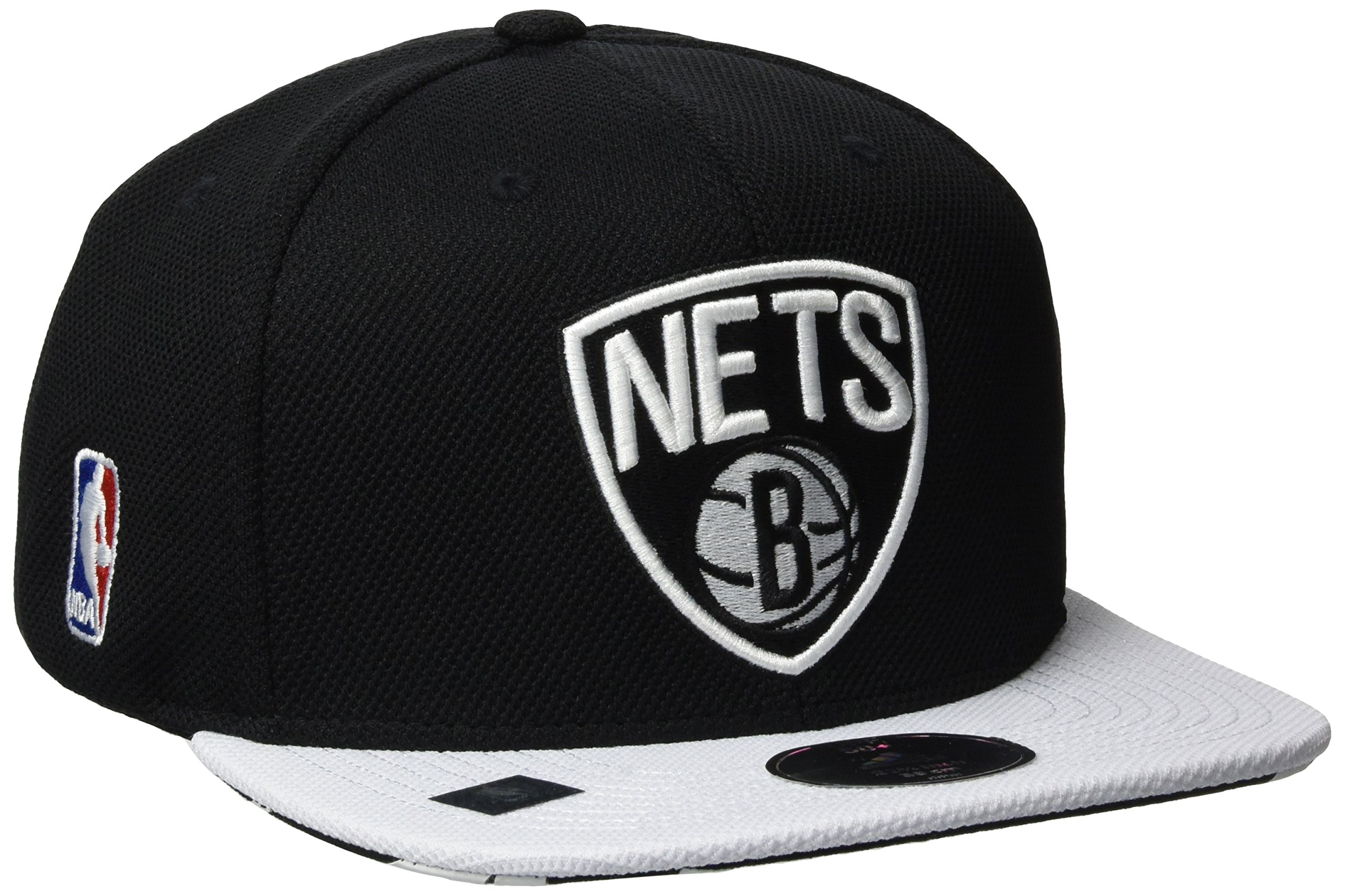 adidas Flat Cap Nets - Gorra unisex, color negro / blanco