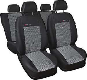 Gsc Sitzbezüge Maßgefertigt Kompatibel Mit Toyota Corolla Verso I 02 07 Auto