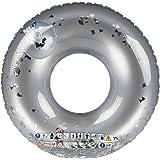 Ultrakidz Riesen-Schwimmring mit Glitterfüllung, Schwimmkissen, XXL Float Spielzeug, Durchmesser ca. 109 cm, für Schwimmbad,