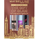 Maybelline New York The Gift Of Glam Mini Mascara and Eyeliner Makeup Gift Set, 1 Count