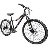 Schwinn Surge Adult Mountain Bike, 26-Inch Wheels, Mens/Womens 17-Inch Alloy Frame, 7 Speed, Disc Brakes