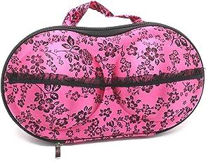 Density Collection Bra Shape Bag Portable Travel Home Organizer Zip Bag Case Bra Underwear Lingerie Case Storage Bag (1 pc)