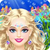 Magic Mermaid: Makeup et Dress Up Jeux de Filles