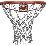 RAISCO 36 cm Dia Ball Size 6CM Speed Basketball Ring Ball Size 6 with Net (Orange)