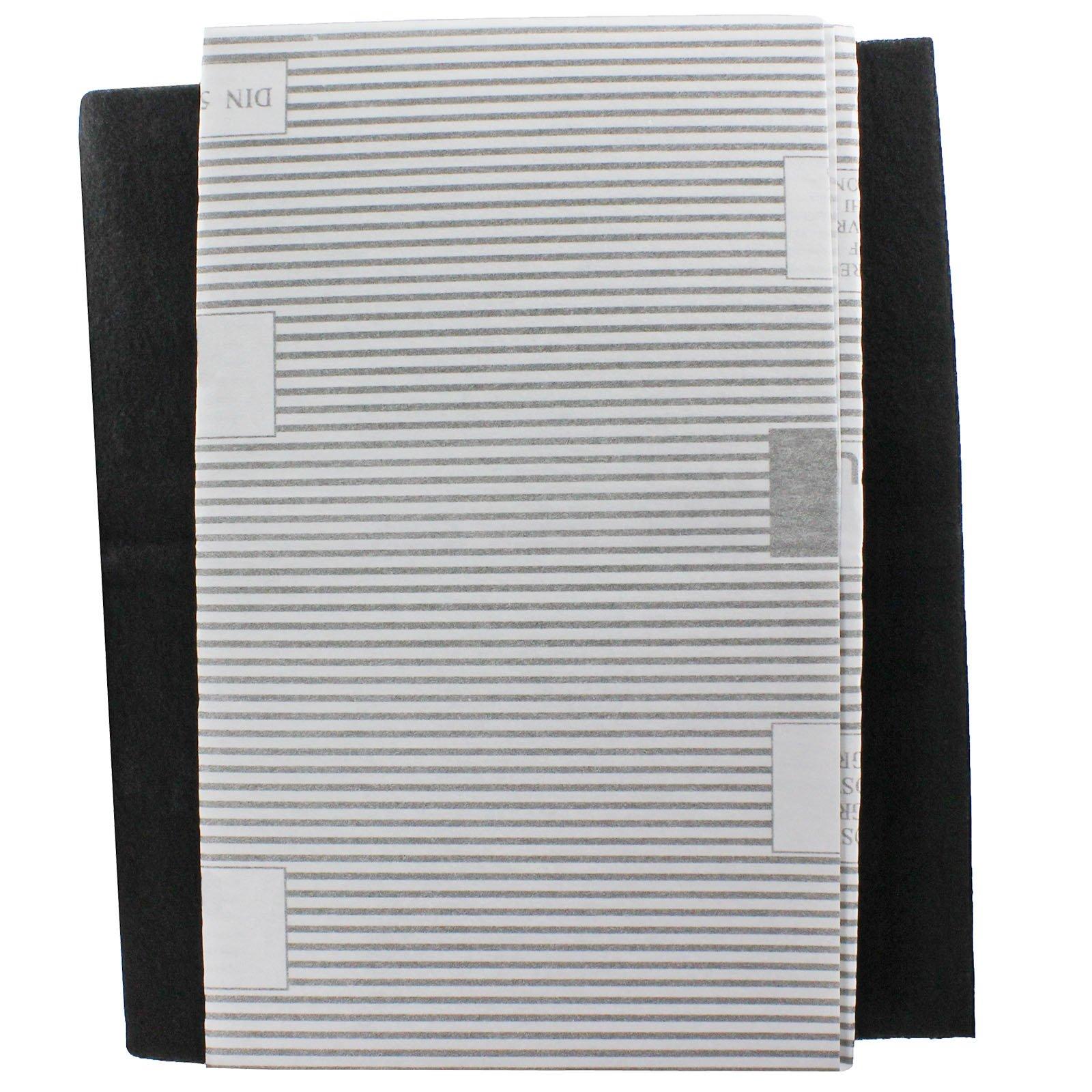 SPARES2GO-Filtri per cappa da cucina grande per aspiratori Turboair Vent (2 x filtro, tagliati in f