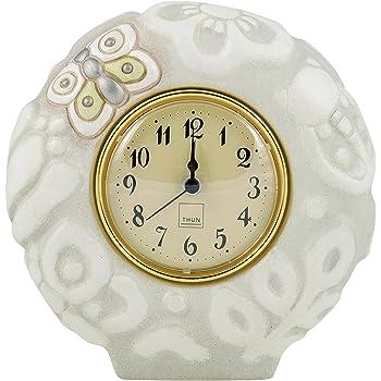 Thun fiori orologio da parete ceramica variopinto for Orologio da tavolo thun