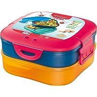 Maped Picnik Concept Kids - Boîte à Déjeuner 3 en 1 - Lunch Box Enfant 3 Compartiments, dont 2 Étanches et Amovibles…