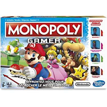 Hasbro - C18151010 - Monopoly Gamer