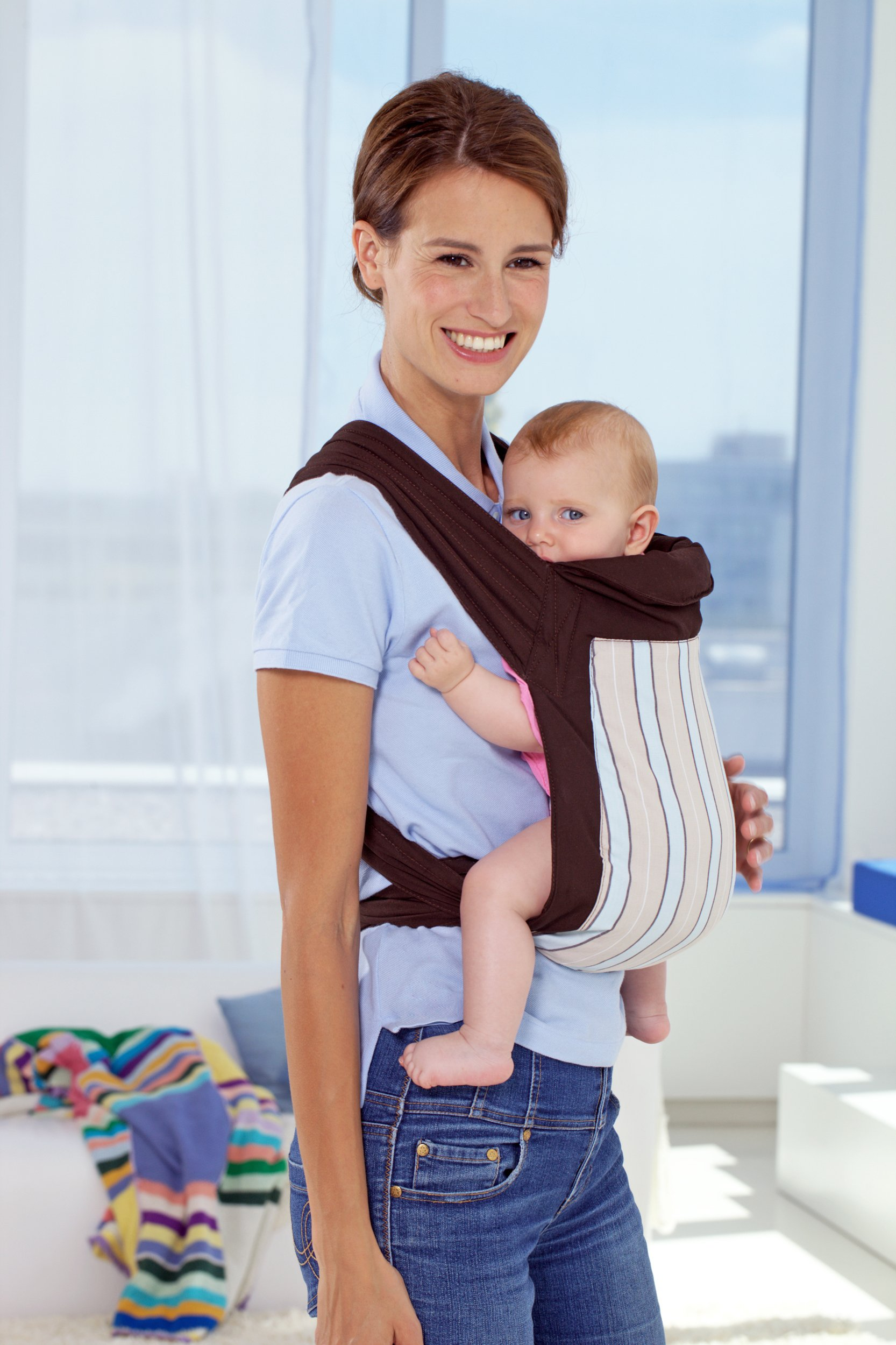 Amazonas Mei Tai Asian Traditional Baby Carrier  Available in 2 designs Carrier can be reversed Easy to put on 7