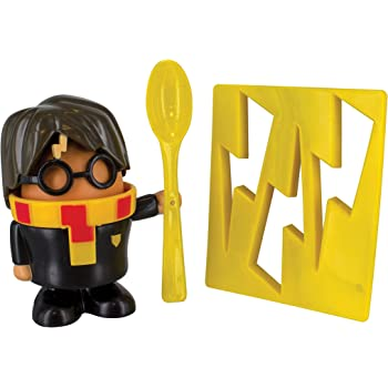 HARRY POTTER Egg Cup and Toast Cutter, Multi-Colour, 6 x 20 x 14 cm