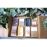 Soap Sampler Gift set - Plastic Free - Palm Free - Vegan - Body Soap - Handmade in Devon UK (SW England)