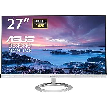 """Asus MX279H - Monitor de 27"""" (1920 x 1080 Full HD, tecnología LED, AH-IPS, 5 ms, HDMI x2, DVI-D, sin marco), color negro"""