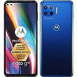 Moto G Plus 5G Dual-SIM 128GB ROM + 4GB RAM Factory Unlocked Android Smartphone (Surfing Blue) - International Version