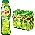 Lipton Original Ice Tea Green een heerlijk verfrissende ijsthee - 12 flessen - 500 ml - Voordeelverpakking
