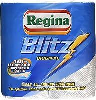 Regina Blitz Original 140 Extra Large Triple Layer Sheets, 2 Rolls