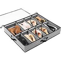 SOLEDI Boîte de Rangement pour Chaussures Peu encombrant pour Le Rangement sous Le lit de la penderie Organisateur de…