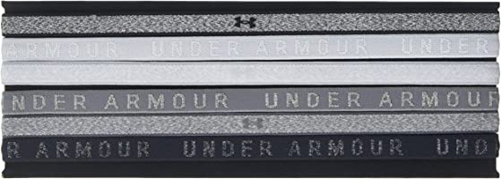Under Armour Kadın Heather Mini (6Pk) Saç Bandı, Overcast Gray/Graphite/Overcast Gray (Gri), OSFA (Tek Ebat) Beden