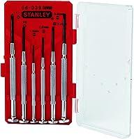 طقم  مفك سعاتى 6قطعة عادة, صليبة من ستانلي 0-66-039-8