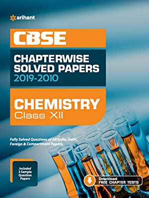 CBSE Chemistry Chapterwise Solved Papers Class 12 2019-20