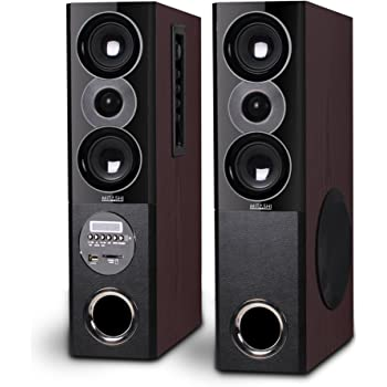 Mitashi TWR 50 FUR Multimedia Tower Speaker (4000 Watts PMPO) with Bluetooth