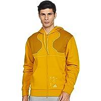 Adidas Men's M FTW Print FZ Full Sleeves Regular fit Track Tops Jacket