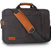 ESTARER umwandelbar Rucksack Laptoptasche Umhängetasche Messenger Bag 17/17,3 Zoll Multifunktions Tasche für Business…