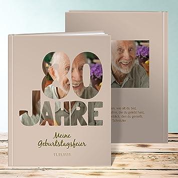 Fotoalbum Zum 18 Geburtstag Gestalten, Stolze 80 28 Seiten, Hardcover  234x296 Mm Personalisierbar,