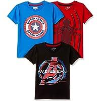 Marvel By Kidsville Boys' T-Shirt (Pack of 3)