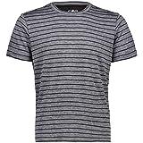 CMP T-Shirt A Righe con Tecnologia Dry-ve Camiseta, Hombre