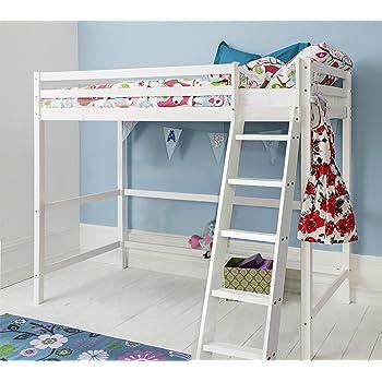 776f6cd94c3 Noa and Nani - Texas High Sleeper Kids Cabin Bed - (White)