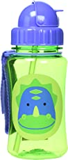 Skip hop Zoo Straw Bottle - Dinosaur (Multicolor)