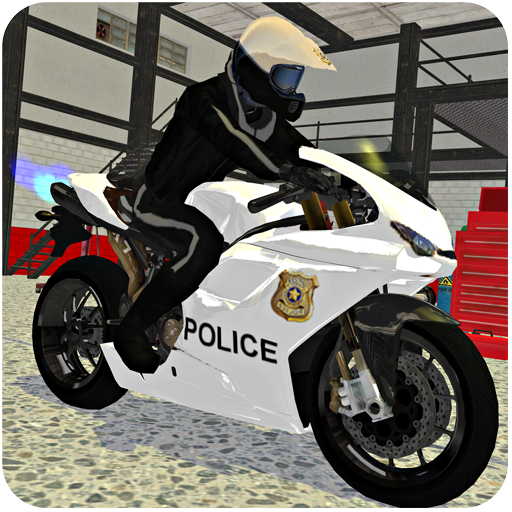 Police Auto Motor Bike - Crazy City Thrill Riding (De Autos Motores)