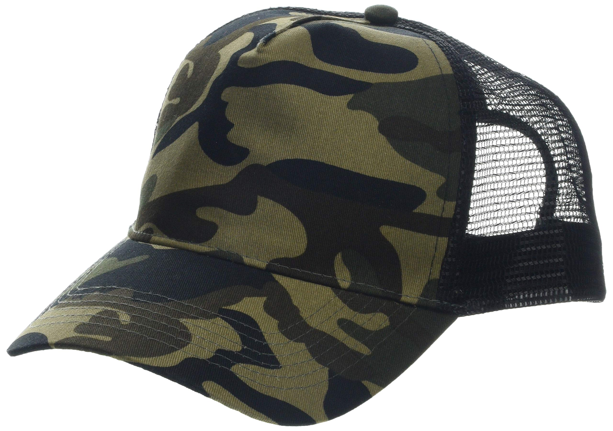 Beechfield Camo Snapback Trucker Beechfield  Caps /& Hats Etc B694