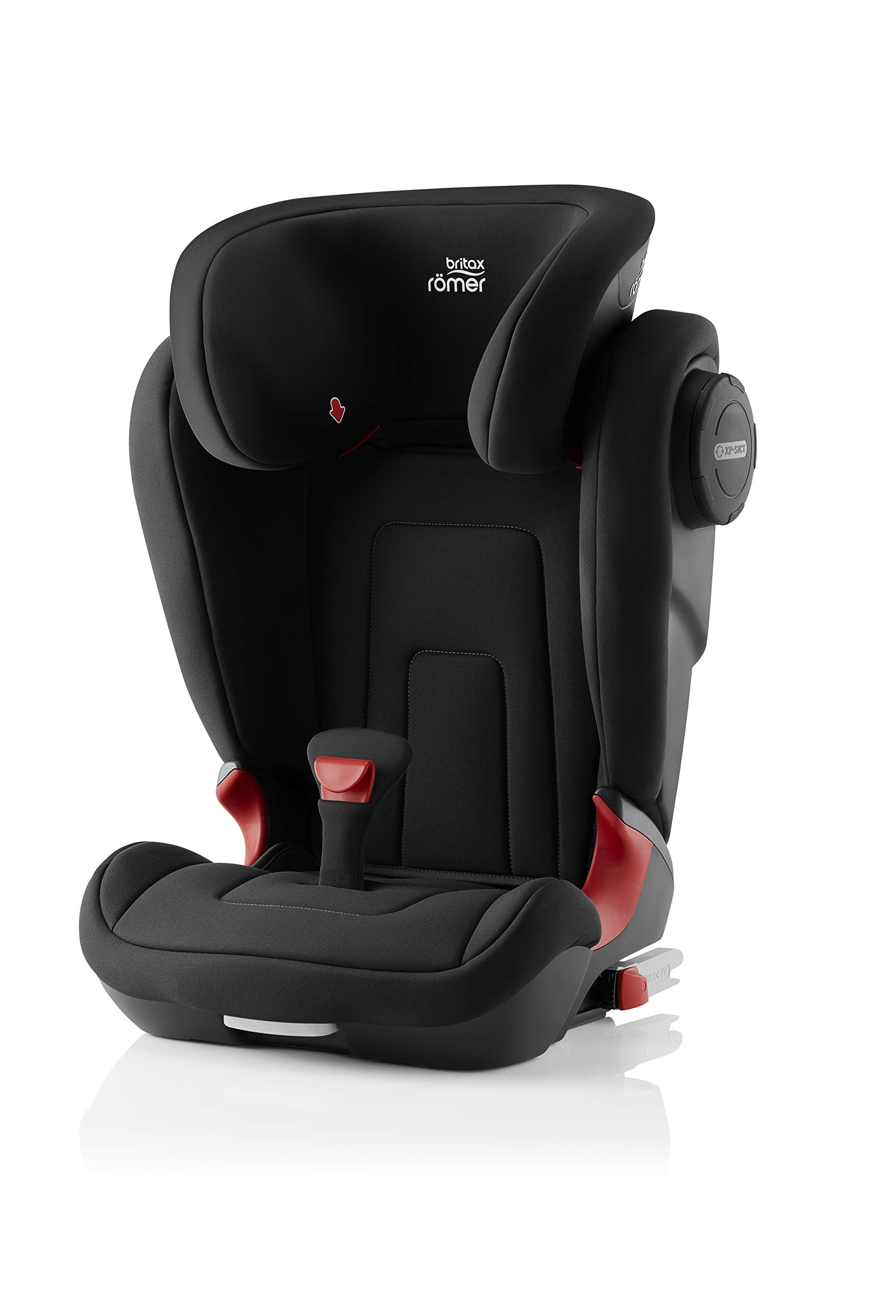 Britax Römer KIDFIX² S Group 2-3 (15-36kg) Car Seat - Cosmos Black  Advanced side impact protection - sict offers superior protection to your child in the event of a side collision. reducing impact forces by minimising the distance between the car and the car seat. Secure guard - helps to protect your child's delicate abdominal area by adding an extra - a 4th - contact point to the 3-point seat belt. High back booster - protects your child in 3 ways: provides head to hip protection; belt guides provide correct positioning of the seat belt and the padded headrest provides safety and comfort. 1