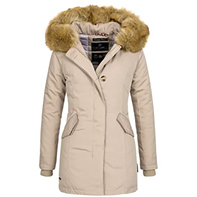 Luxus winterjacke damen