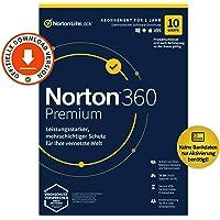Norton 360 Premium 2021   10 Geräte   Antivirus   Unlimited Secure VPN & Passwort-Manager   1 Jahr   PC/Mac/Android/iOS…