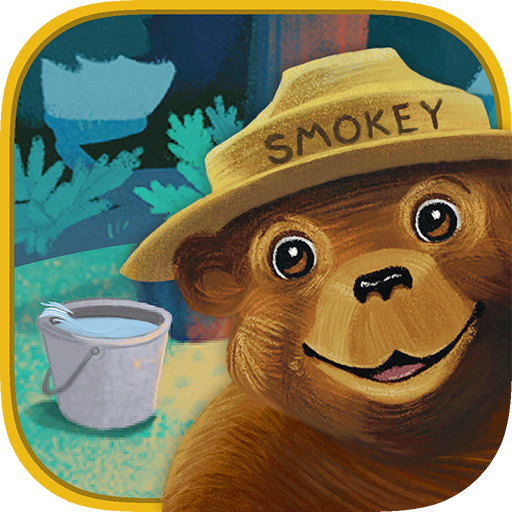 smokey-bear-and-the-campfire-kids-book-will-smokey-get-to-the-children-in-time-before-their-fire-put