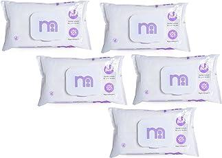 Mothercare Non Fragrances Wipes ( 60pcs x 5pkt) (Purple)