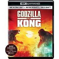 Godzilla vs. Kong (4K UHD + Blu-ray 3D + Blu-ray) (3-Disc)