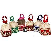 Bombay Haat Women's Potli Bag (Multicolour)