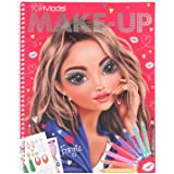 TOPModel MakeUp Colouring Book, Multicolor, 10728