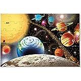 Melissa & Doug- Sistema Solar para el Piso Rompecabezas, 48 Piezas, Multicolor (10413)